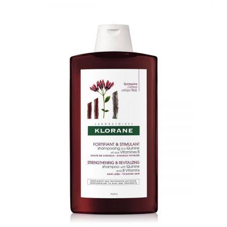 Quinine Et Vitamines B Shampooing fortifiant stimulant pour cheveux fatigués et risque de chute