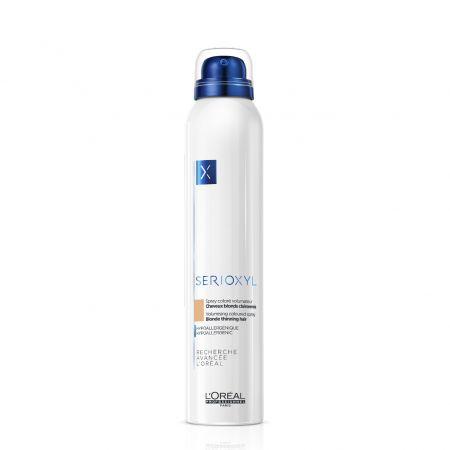 Spray coloré volumateur cheveux clairsemés a3474636645633