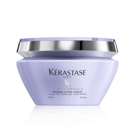 Blond Absolu Masque Ultra-Violet Masque violet anti-faux reflets pour cheveux décolorés ou méchés a3474636692408