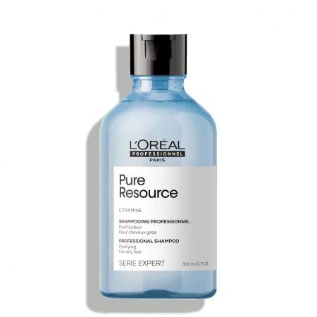 Serie Expert Pure Resource Shampooing professionnel purificateur pour cheveux gras