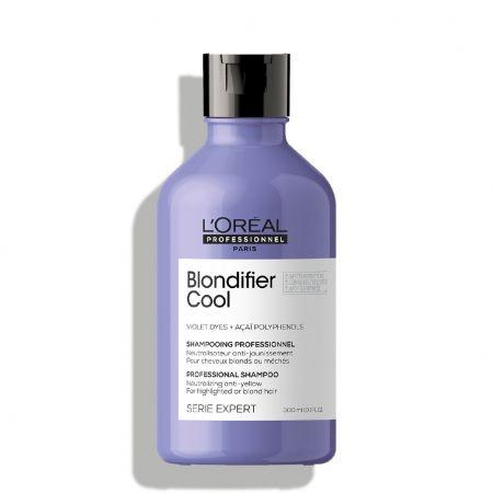 Shampooing professionnel neutralisateur anti-jaunissement pour cheveux blonds ou méchés
