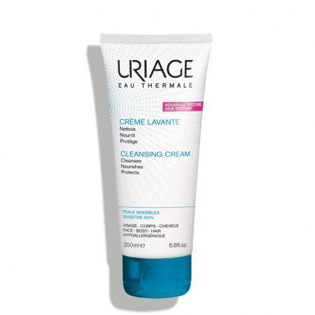 Nettoyante, nourrissante et protectrice pour les peaux sensibles du visage et du corps et les cheveux