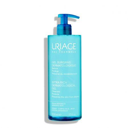 Nettoyant protecteur, anti-dessèchement pour peaux sensibles du visage et du corps