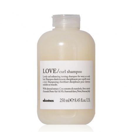 Love Curl Shampoo Shampooing élastifiant disciplinant pour cheveux ondulés ou bouclés