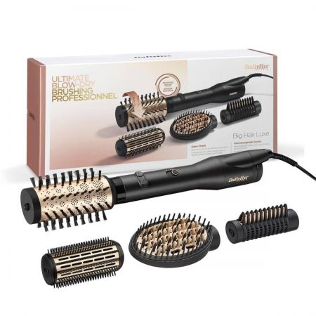 Big Hair Luxe Brosse soufflante rotative en céramique 4 têtes 38mm - 650W
