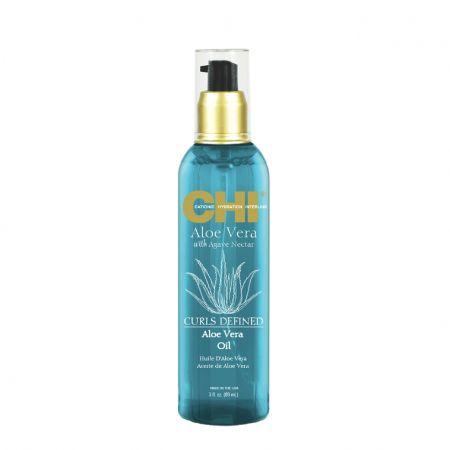 Aloe Vera Curls Defined Oil Huile d'Aloe Vera Cheveux Bouclés chin08-hav089
