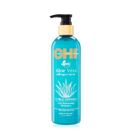 Aloe Vera Curl Enhancing Shampoo Shampooing Fortifiant Cheveux Bou chin08-sfc340