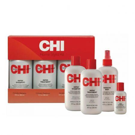 Coffret Shampoo + Conditioner  + Keratin Mist 150ml + Silk In chin12-sht4x1a