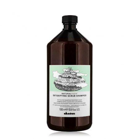 Naturaltech Detoxifying Scrub Shampoo  revitalisant  cuir chevelu atonique