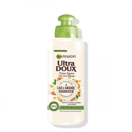 Ultra Doux Crème Légère Sans Rinçage au Lait d'Amande garp09-clr200