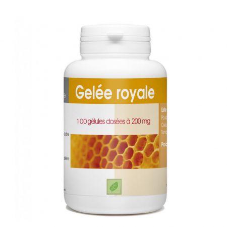 Complément alimentaire Produits de la ruche / Défenses immunitaires / Forme et vitalité - 100 gélules