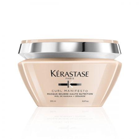 KERASTASE Curl Manifesto Masque Beurre Haute Nutrition Masque extra-riche de nutrition pour cheveux très bouclés et crépus
