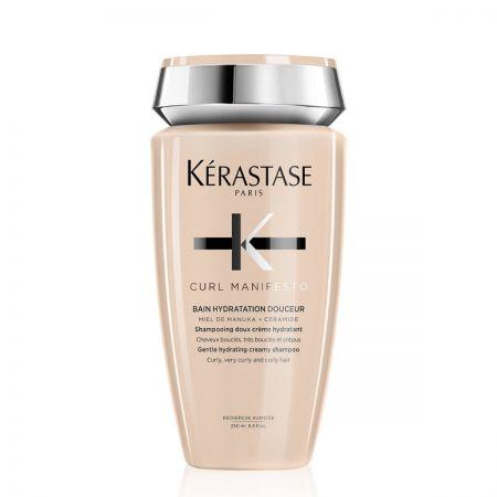 Curl Manifesto Bain Hydratation Douceur Shampooing doux crème hydratant cheveux très bouclés crépus ker001-shp250
