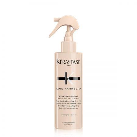 Spray deuxième jour raviveur de boucles pour cheveux très bouclés et crépus - 190ml