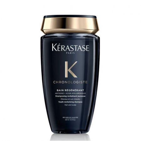 KERASTASE Chronologiste Bain Régénérant Shampooing revitalisant jeunesse pour cheveux et cuir chevelu KER003.SRJ250
