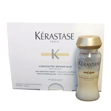 Fusio Dose Concentré Densifique Soin instantané redensifiant pour cheveux à mélanger avec un booster Fusio-Dose ker556-srd012