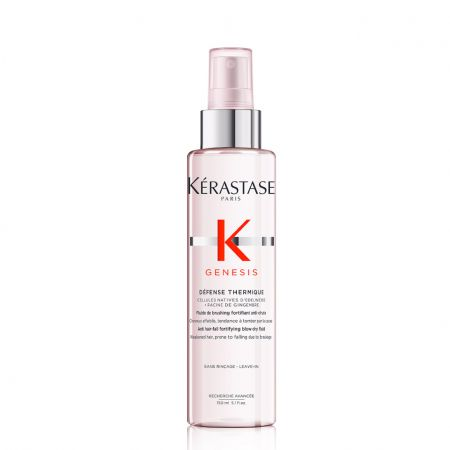 Genesis Défense Thermique Fluide de brushing fortifiant anti-chute pour cheveux affaiblis et cassants -ker567-fbf150