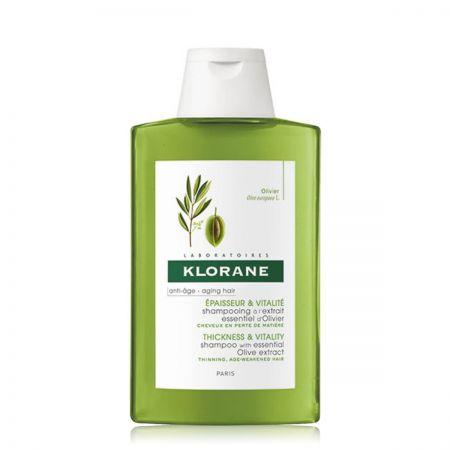 Extrait Essentiel D'Olivier Shampooing épaisseur vitalité cheveux perte densité klor07-sev200