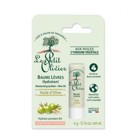 Baume à lèvres hydratant pour lèvres sèches et sensibles - 4g