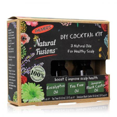 Natural Fusions Diy Cocktail Kit Huiles Naturelles Cuir Chevelu palm36-crc310