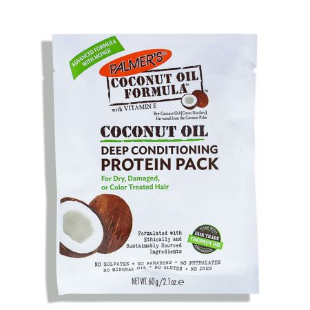 Coconut Oil Formula Deep Conditioning Protein Pack Masque palm37-mnr060