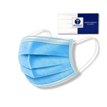 Haute protection, respiration confortable - 50 unités