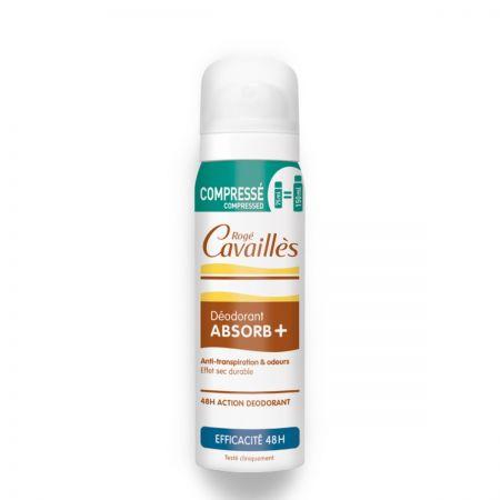 ROGÉ CAVAILLES Absorb + Déodorant spray  Compressé efficacité 48h