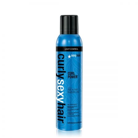 Curly Power Spray  Mousse Rehausse-Boucles shac09-mrb250